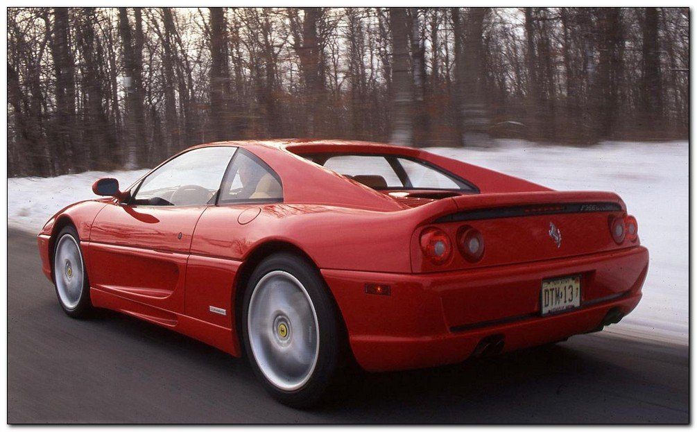 Ferrari F355 Back Side Car Review Car Tuning Modified