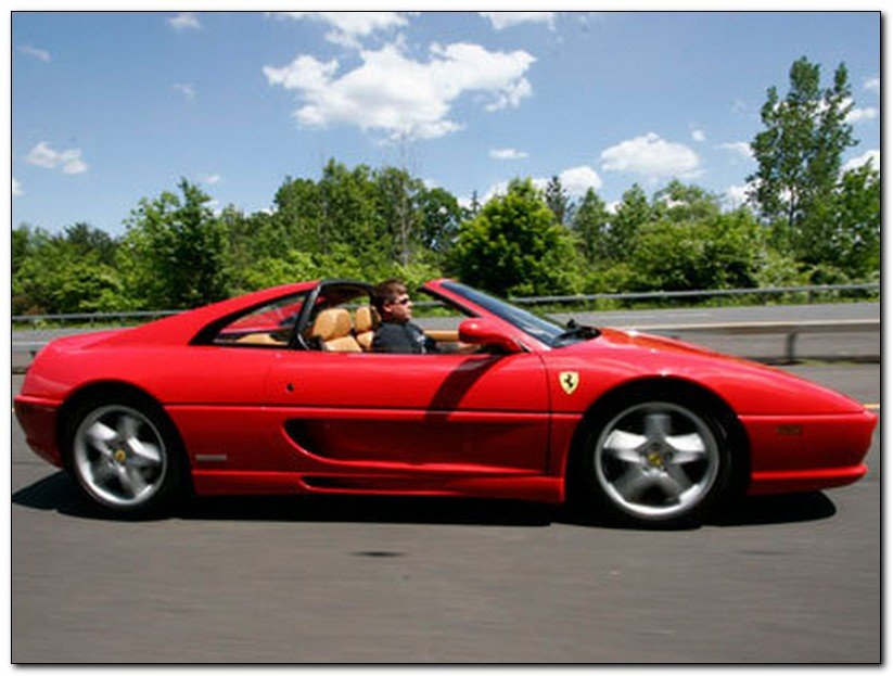 ferrari f355 side view car review car tuning modified new car. Black Bedroom Furniture Sets. Home Design Ideas