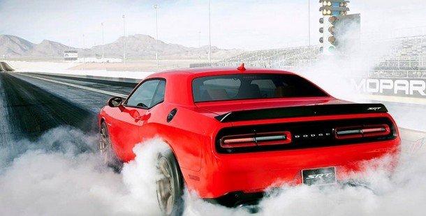 2015 Dodge Chaeger burning tyre