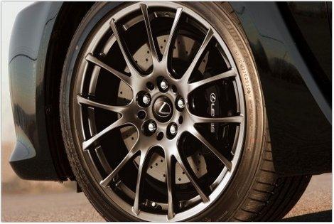2014 lexus wheel