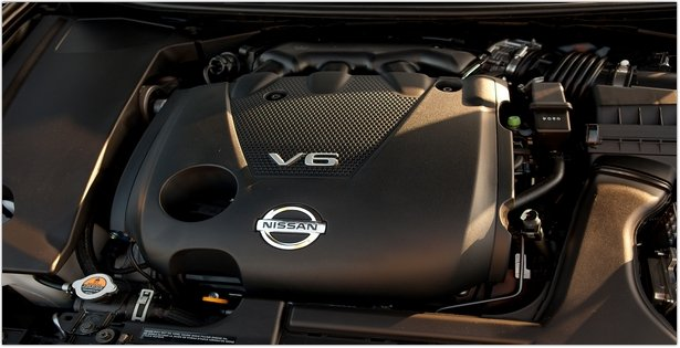 2015 Nissan Maxima Engine View