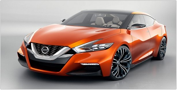 2015 nissan maxima front view review price release date and specification. Black Bedroom Furniture Sets. Home Design Ideas