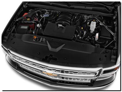 2014 Chevy Silverado Engine