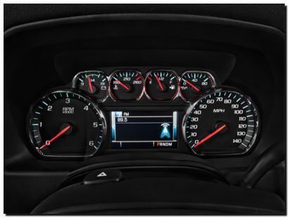 2014 Chevy Silverado Intrument