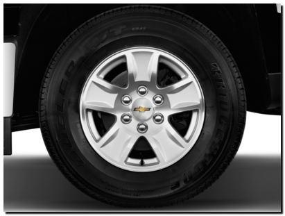 2014 Chevy Silverado  Wheel