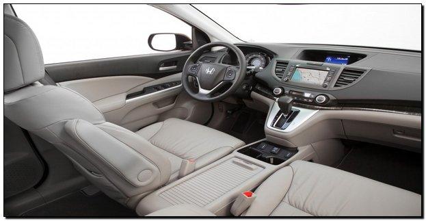 2014 Honda CRV interior