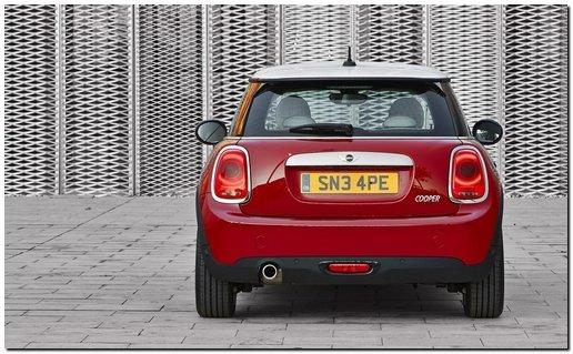 2014 Mini Cooper Back Side