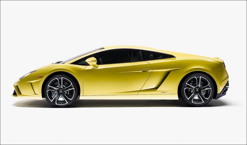 2013 Lamborghini Gallardo LP560-4 Side View