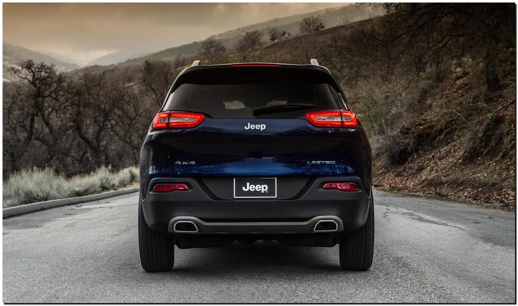 2014 Jeep Cherokee Back Side