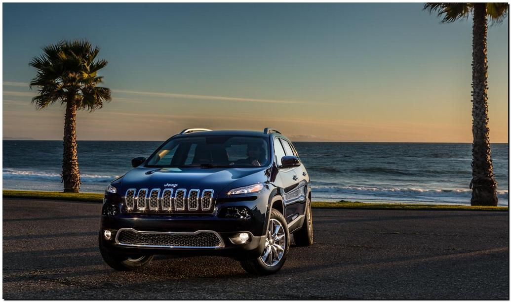 2014 Jeep Cherokee Front sea