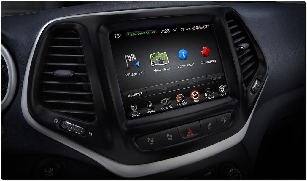 2014 Jeep Cherokee Navigasi