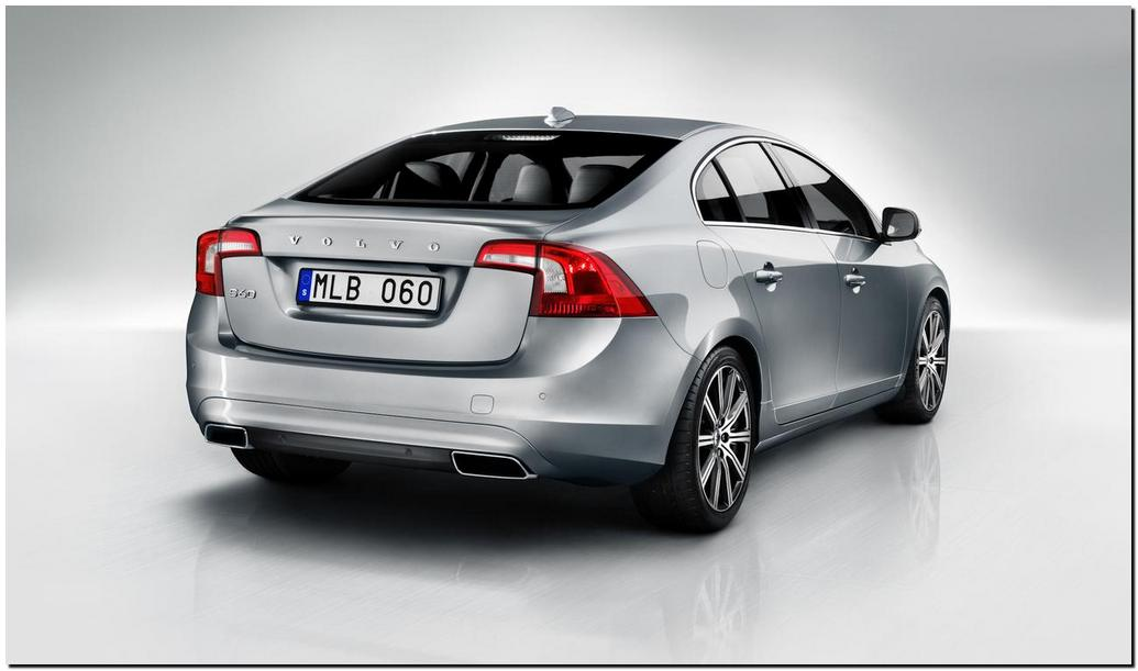 2014 Volvo s60 Back side