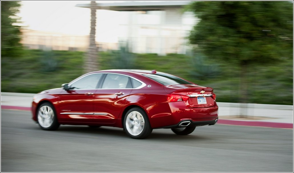 2014 chevrolet impala Back Side