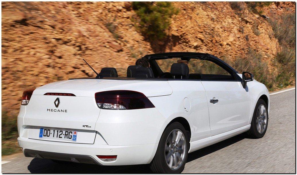 2015 Renault Megane Coupe Back Side