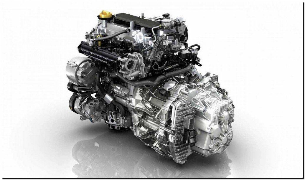 2015 Renault Megane Coupe Engine
