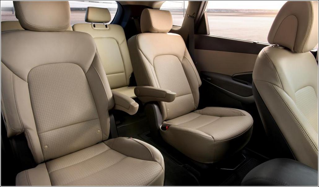 Hyundai Santa Fe 2014 Rear Seats