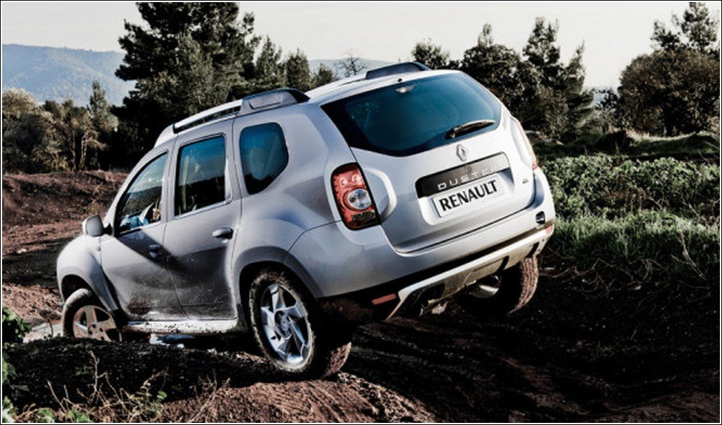 Renault Duster Facelift Offroad