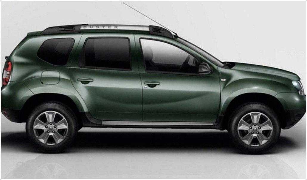 Renault Duster Facelift Side