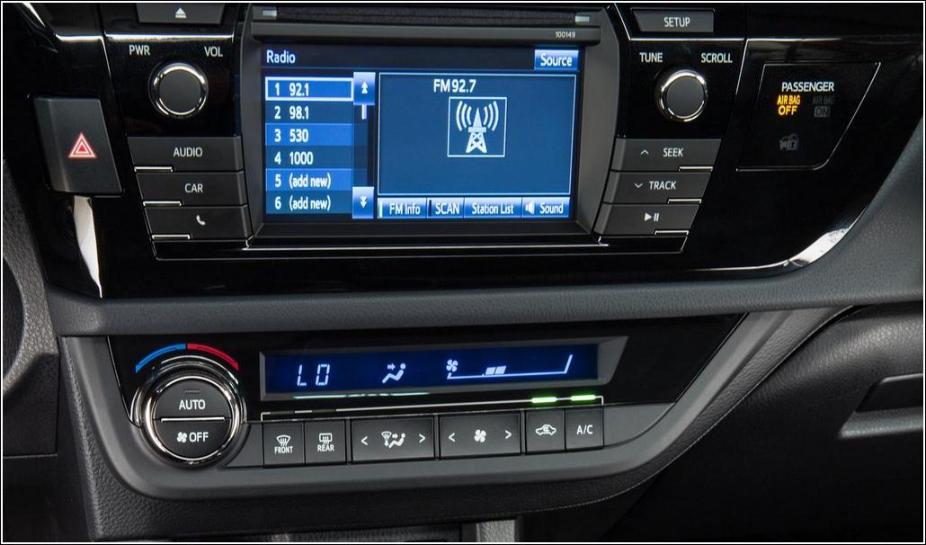 2014 Toyota Corolla Audio