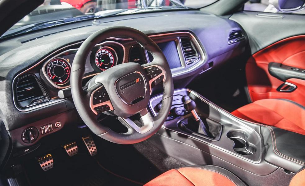 2015 Dodge Challenger SRT Interior – Review Price Release ...