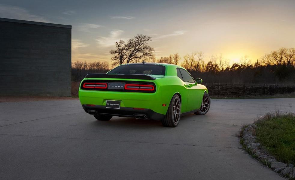 2015 Dodge Challenger SRT back side