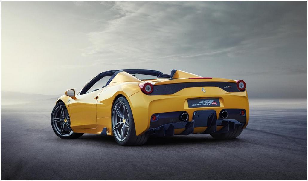 Ferrari 458 Spider Back Side