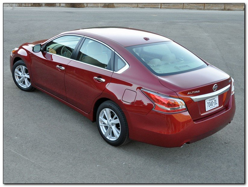 Nissan Altima 2014 Top View