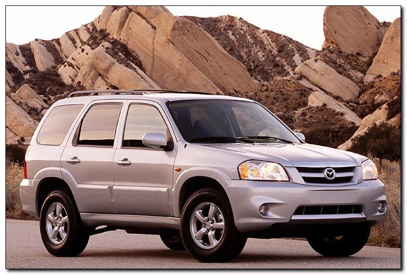2005 mazda tribute fornt view