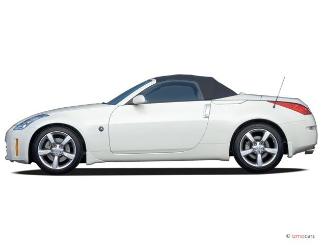 2006 Nissan 350z Side View