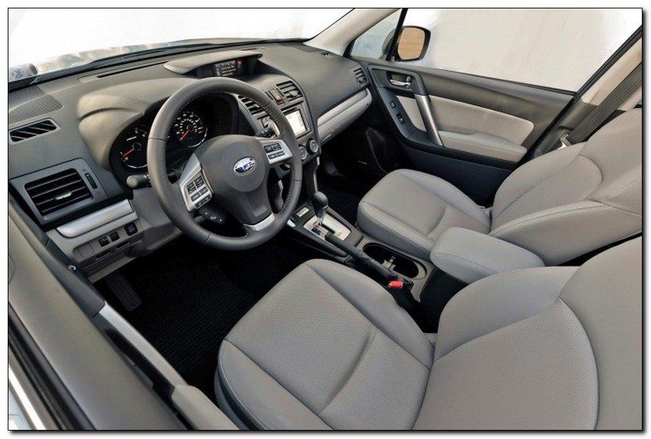 2015 Subaru Forester 2.0 Interior