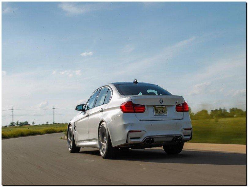 BMW M3 2015 Back Side