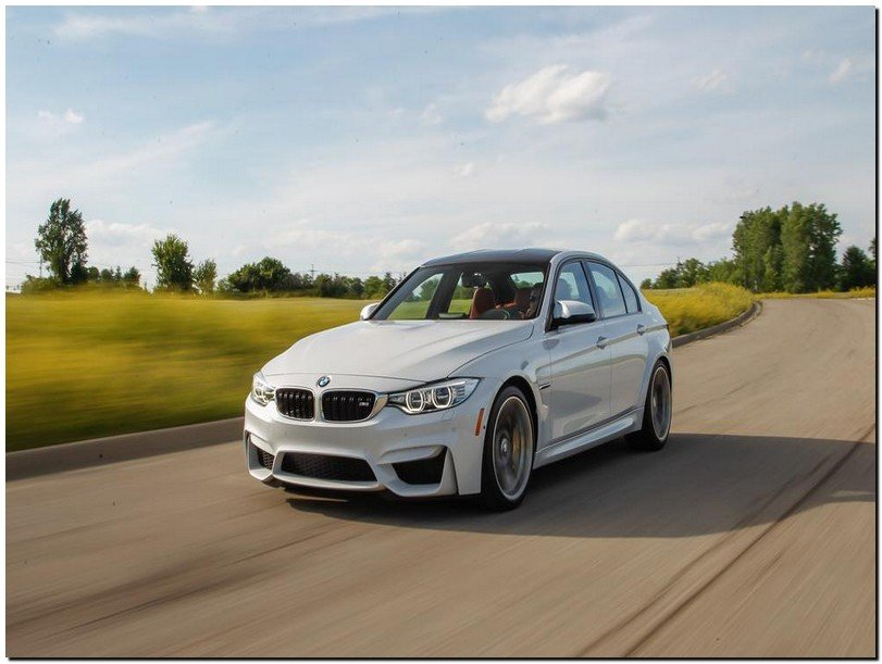 BMW M3 2015 Front View