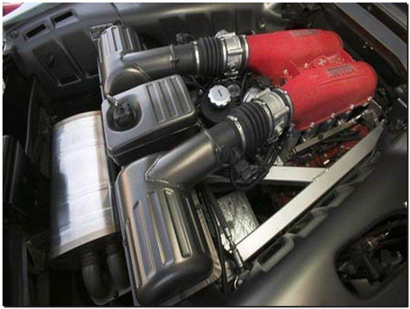 Ferrari F430 Spider Engine