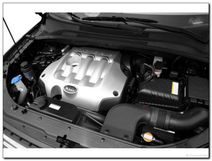 2007 kia sportage Engine