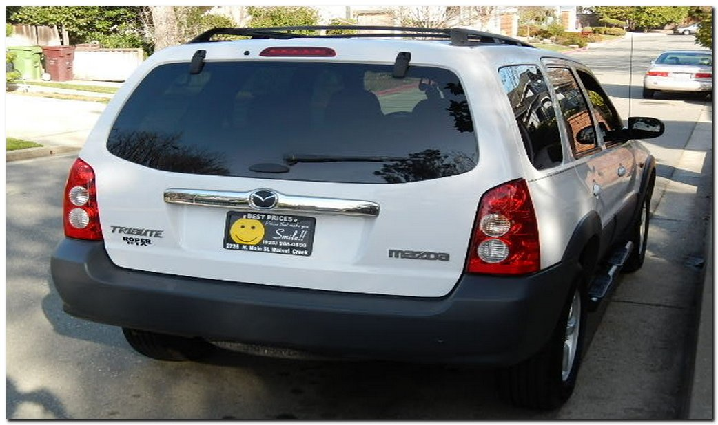 2005 mazda tribute problems side view