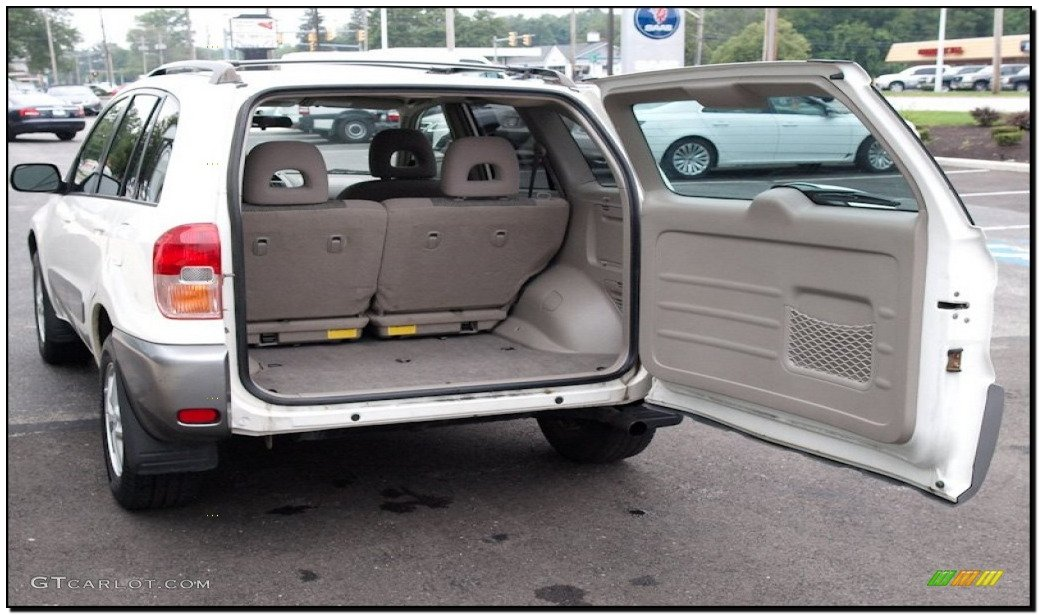 2001 toyota rav4 accessories