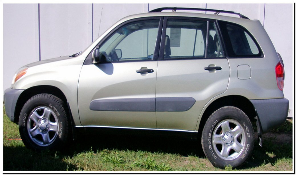 2001 toyota rav4 manual
