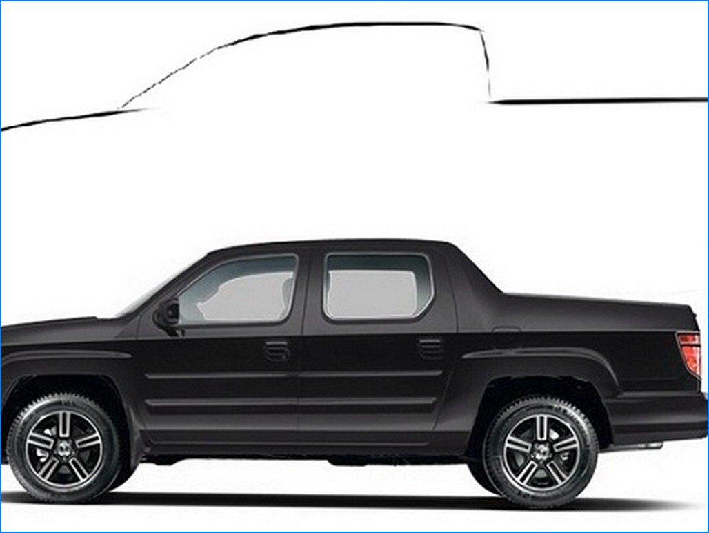 2016 Honda Ridgeline concept