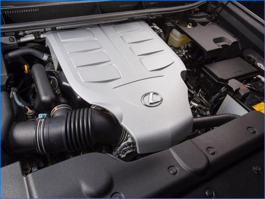 2016 Lexus GX 460 engine