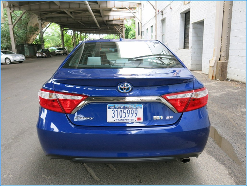 2016 toyota camry redesign