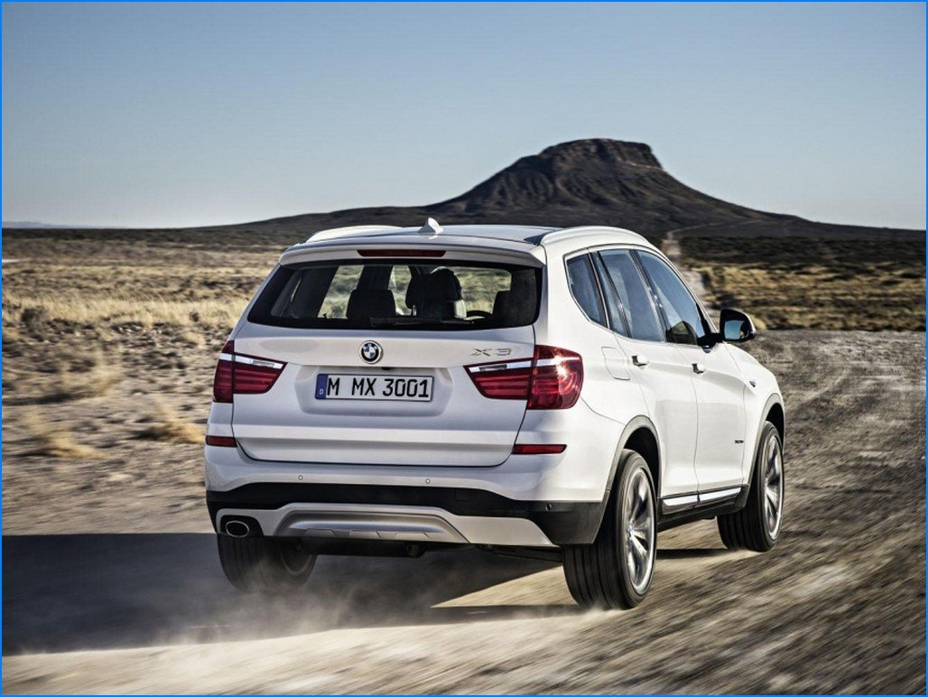 2017 bmw x3 changes