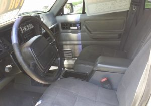 1996 jeep cherokee Interior