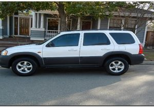 2005 Mazda Tribute Specs Side view