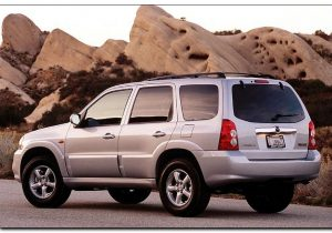 2005 mazda tribute backview