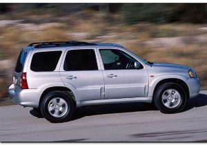 2005 mazda tribute side view