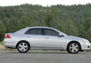 2007 Honda Accord Side View