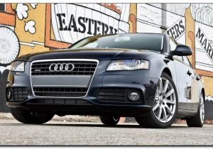 2009 audi a4 Front Side