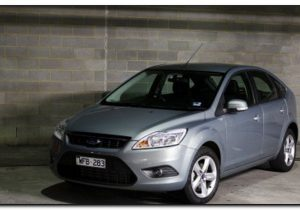 2009 ford focus Front