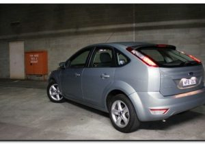 2009 ford focus rear