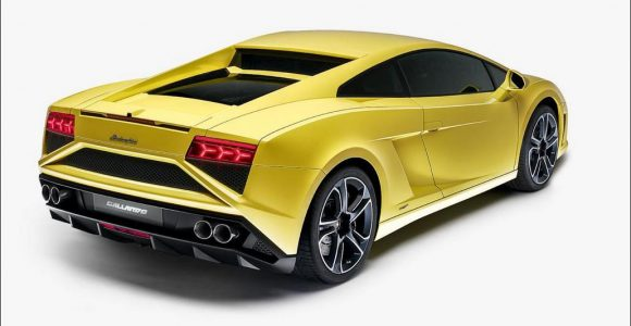 2013 Lamborghini Gallardo LP560-4 Back